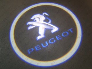 LED LOGO SHADOW LIGHT PEUGEOT CREE CHIP