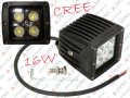 HALOGEN LED 16W CREE HIGH POWER SPOT LIGHT ROBOCZE OFF ROAD 12V 24V