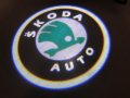 LED LOGO SHADOW LIGHT SKODA CREE CHIP
