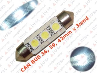 CAN BUS LED FESTOON C5W 39mm 3 5050 SMD - RURKOWA