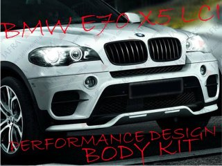 BMW E70 X5 LCI BODY KIT PERFORMANCE STYL