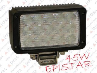 HALOGEN LED 45W EPISTAR HIGH POWER SPOT LIGHT ROBOCZE OFF ROAD 12V 24V