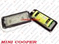 BMW MINI COOPER: R50 COUPE LAMPKA LED TABLICY REJESTRACYJNEJ RDH